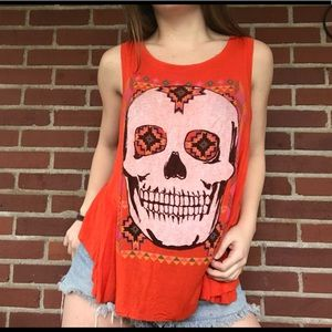 Urban Outfitters Skull top